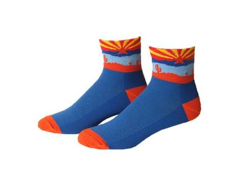 "Save Our Soles Arizona 2.5"" Socks (Blue)"