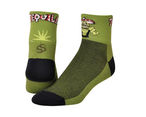 """Save Our Soles Tequila 2.5"""" Socks (Green)"""