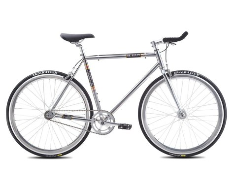 SE Racing 2016 Lager Single-Speed Fixed Gear Road Bike (Chrome)