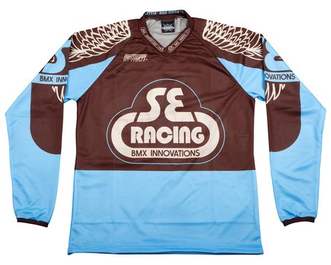 SE Racing Retro BMX Jersey (Blue) (L)