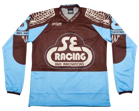 SE Racing Retro BMX Jersey (Blue) (XL)