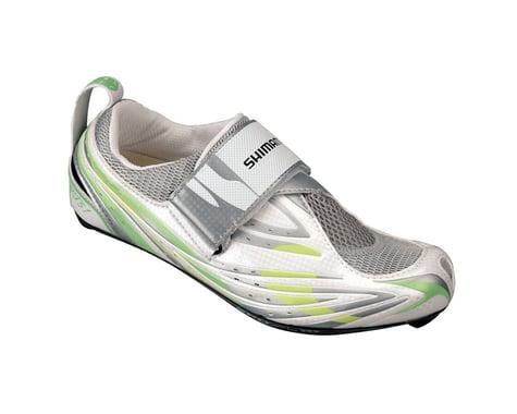 Shimano Women's SH-WT51 Triathlon Shoes (Green/White)