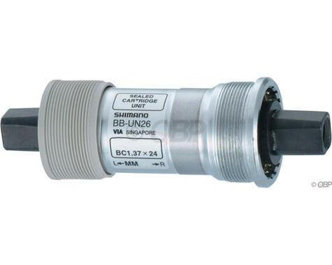 Shimano UN26 Square Taper Bottom Bracket (Silver) (BSA) (68mm) (110mm)