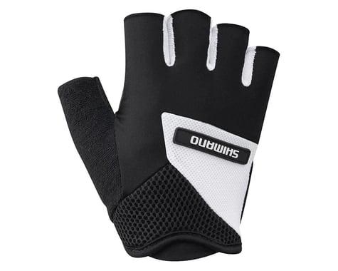 Shimano Airway Short Finger Gloves (Black/White)