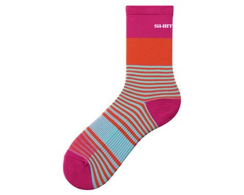 Shimano Original Tall Socks (Pink) (M/L)