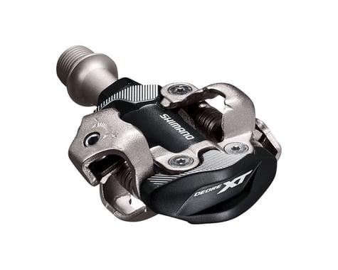 Shimano Deore XT PD-M8100 Race Pedals w/Cleats (Black)