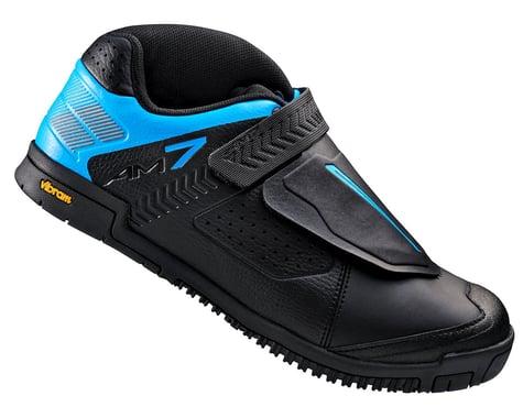 Shimano SH-AM7 Bicycle Shoe (Black/Blue)