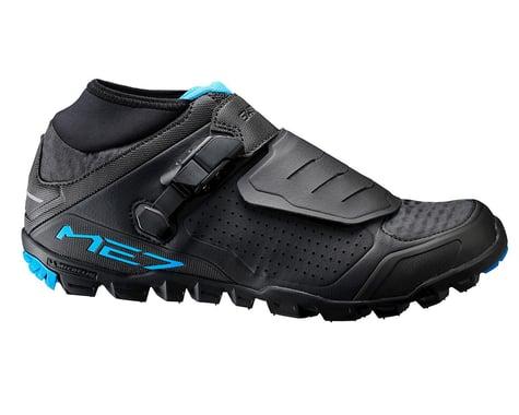 Shimano SH-ME7 Mountain Enduro/Trail Shoes (Black)
