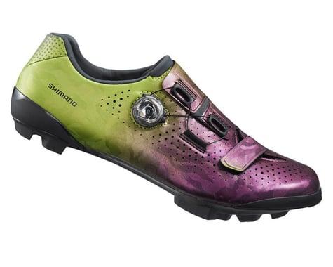 Shimano RX8 Gravel Shoes (Purple/Green) (38)