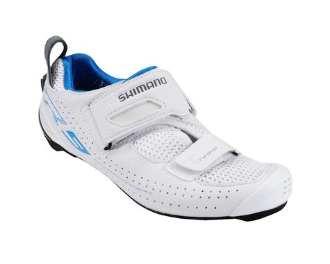 Shimano Women's SH-TR9 Triathlon Shoes (White) (44)