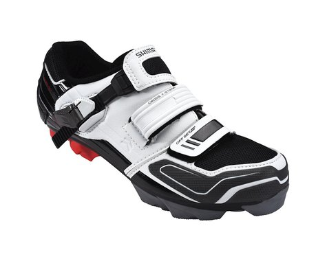Shimano SH-XC51 Mountain Shoes (White/Black)