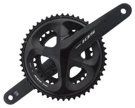 Shimano 105 FC-R7000 Crankset (Black) (2 x 11 Speed) (Hollowtech II) (172.5mm) (50/34T)