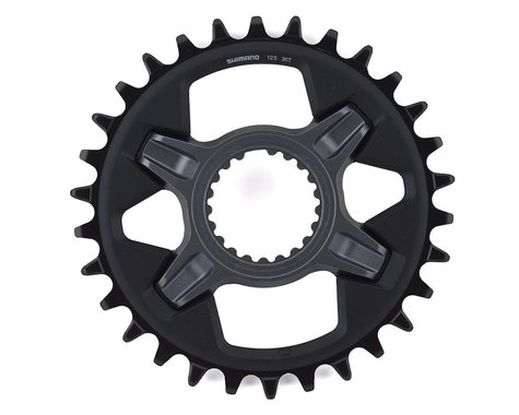 Shimano SLX SM-CRM75 1x Direct Mount Chainring (Grey) (Boost) (3mm Offset (Boost)) (30T)