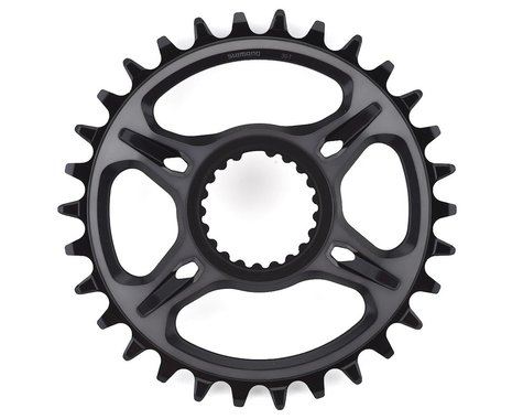 Shimano XTR M9100 Direct Mount Chainring (Black) (0mm Offset) (30T)