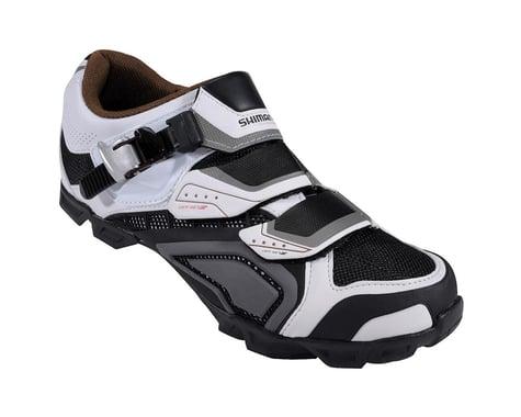 Shimano SH-M162 MTB Shoes (Black/White) (48)