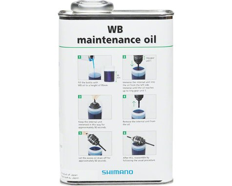 Shimano Maintenance Oil - 1L, Bulk