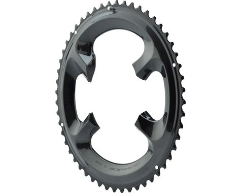Shimano Dura-Ace R9100 Chainring (Black) (110mm BCD) (Offset N/A) (52T)