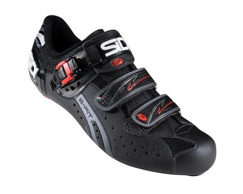 Sidi Genius Fit Carbon Mega Road Shoes (Black)
