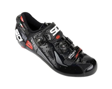 Sidi Ergo 4 Carbon Mega Road Shoes (Black)