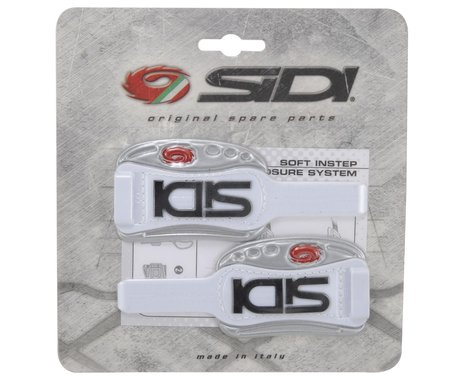 Sidi Soft Instep Closure System (White/Silver)