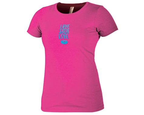 """Sidi """"Love Sidi Live"""" Women's T-Shirt (Pink) (L)"""