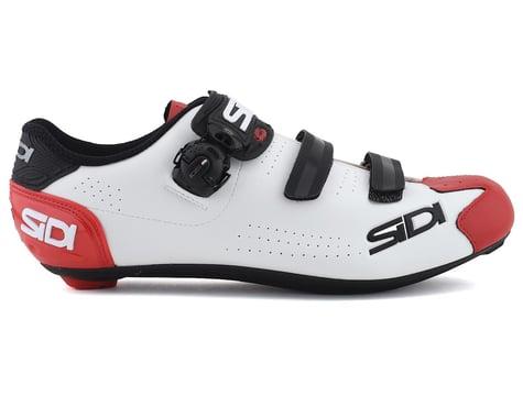 Sidi Alba 2 Road Shoes (White/Black/Red) (41.5)