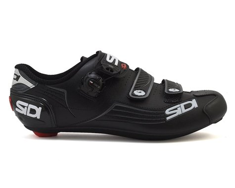 Sidi Alba Carbon Road Shoes (Black/Black) (45.5)