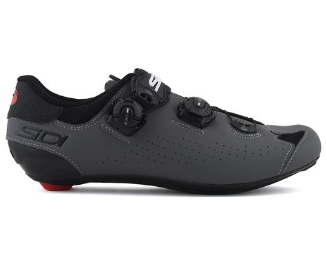 Sidi Genius 10 Road Shoes (Black/Grey) (45.5)