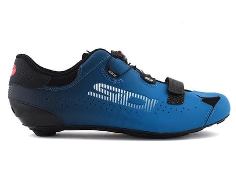 Sidi Sixty Road Shoes (Black/Petrol) (45)