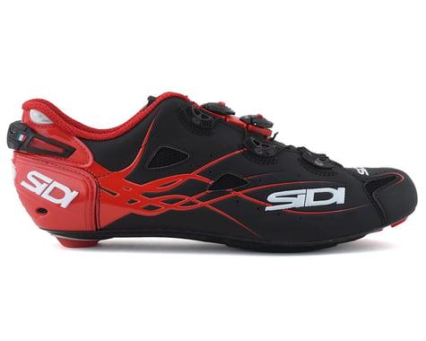 Sidi Shot Road Shoes (Matte Black/Red)
