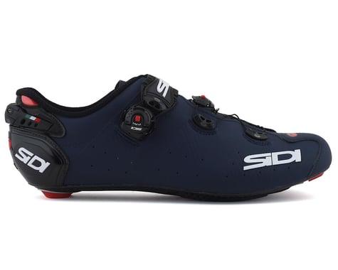 Sidi Wire 2 Carbon Road Shoes (Matte Blue/Black) (47)