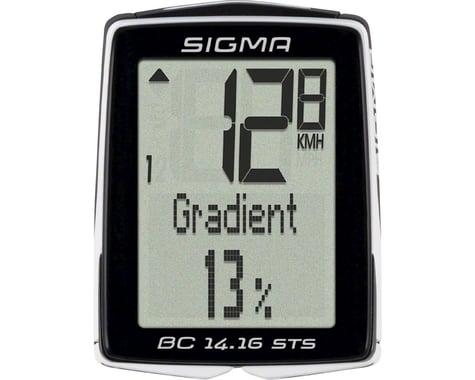 Sigma BC 14.16 STS Cadence Bike Computer (Black) (Wireless)