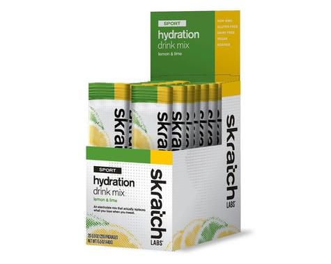 Skratch Labs Sport Hydration Drink Mix (Lemon Lime) (20 | 0.5oz Packets)