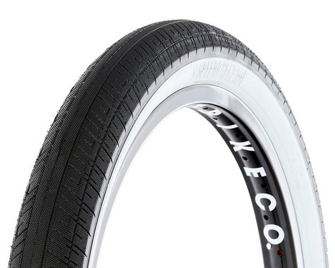 S&M Speedball Tire (Black/Whitewall)