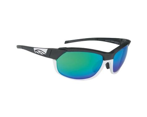 Smith Pivlock Overdrive Sunglasses (Matte Black White)