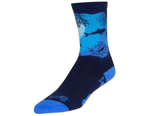 "Sockguy 6"" Socks (Abyss)"