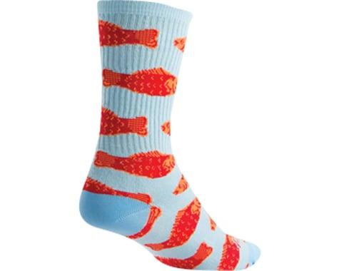 """Sockguy 6"""" Socks (Go Fish) (L/XL)"""
