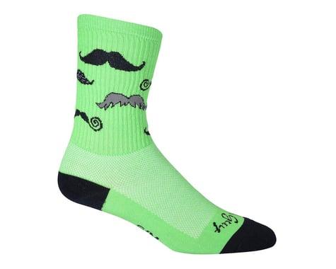 Sockguy Mustache Crew Socks