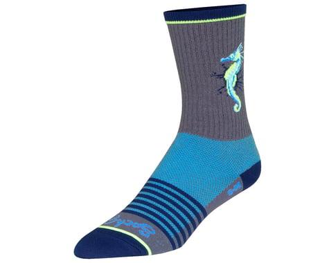 "Sockguy 6"" Socks (Seahorse) (S/M)"
