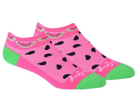 "Sockguy 1"" Socks (Watermelon) (S/M)"