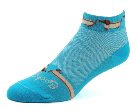 "Sockguy 1"" Socks (Weiner Dog) (S/M)"