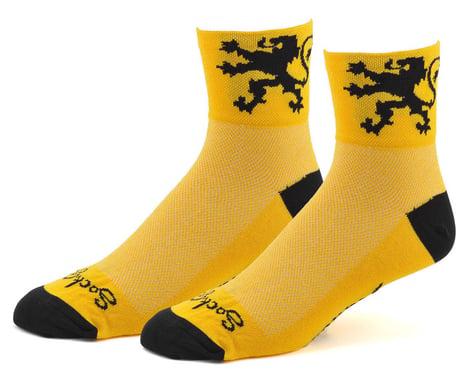 "Sockguy 3"" Socks (Lion Of Flanders)"