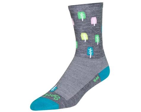 """Sockguy 6"""" Wool Socks (Glen)"""