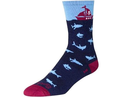 """Sockguy 6"""" Wool Socks (Lunch)"""