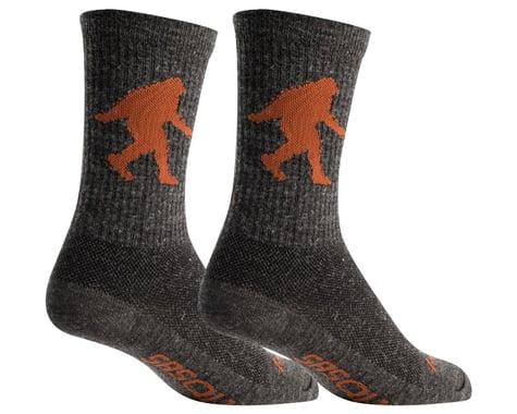"""Sockguy 6"""" Wool Socks (Sasquatch) (S/M)"""