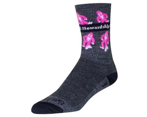 """Sockguy 6"""" Wool Socks (Sierra Buttes Trail) (S/M)"""