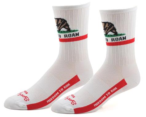 """Sockguy 6"""" SGX Socks (Freedom) (L/XL)"""