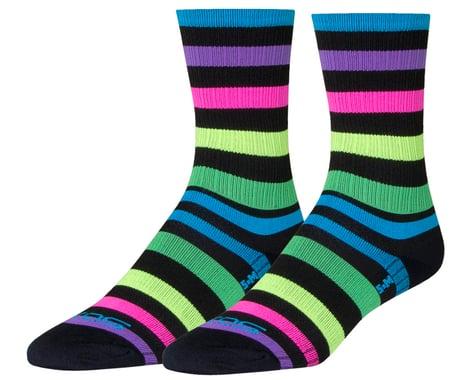 """Sockguy 6"""" SGX Socks (Night Bright) (L/XL)"""