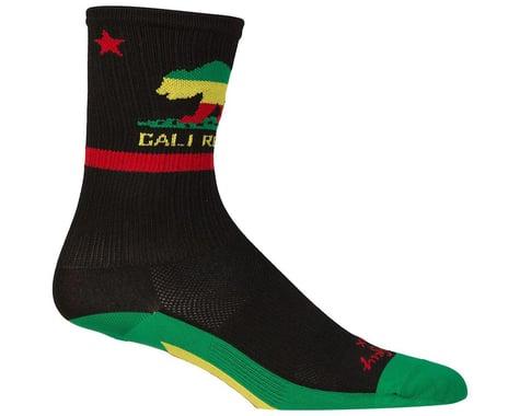 """Sockguy 6"""" SGX Socks (Rasta Cali)"""