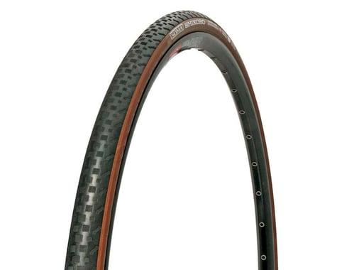 Soma Shikoro Armored Clincher Tire (Black/Brown) (700c) (28mm)